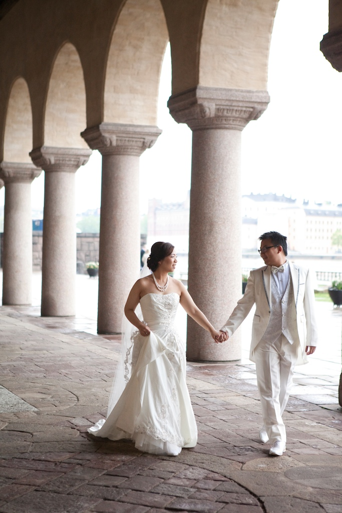 Hong Kong Couple Get Married in Stockholm