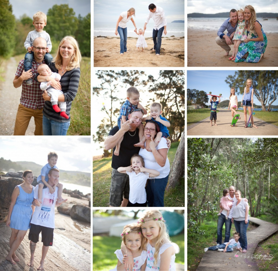 photoshoot clothing ideas for summer families: a visual guide