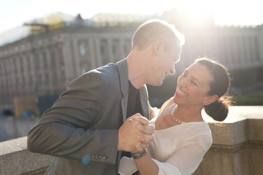 Pre-Wedding Photos on Gamla Stan